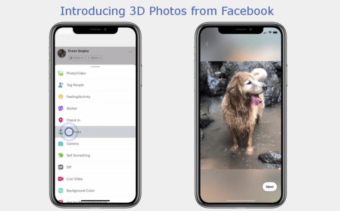 Así podrás subir fotos 3D a tu perfil de Facebook