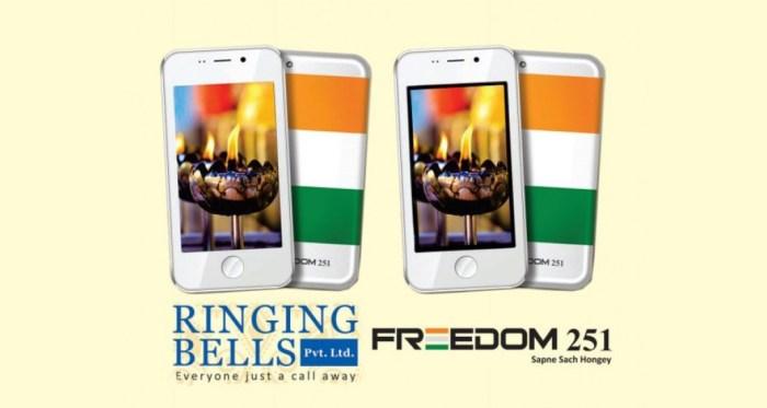 Freedom 251, el primer smartphone de menos de 4 dólares