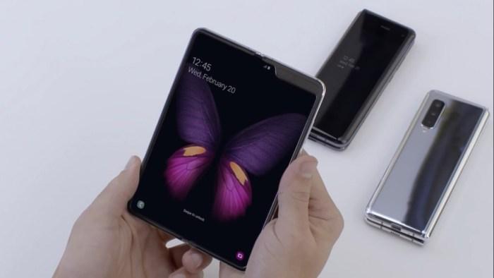 Operadora norteamericana confirma venta del Galaxy Fold para el 25 de Abril