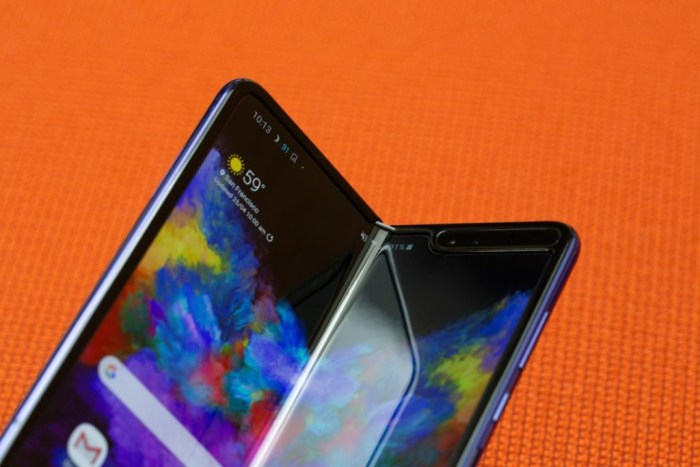 Samsung incluiría una cámara bajo la pantalla en el Galaxy Fold 2
