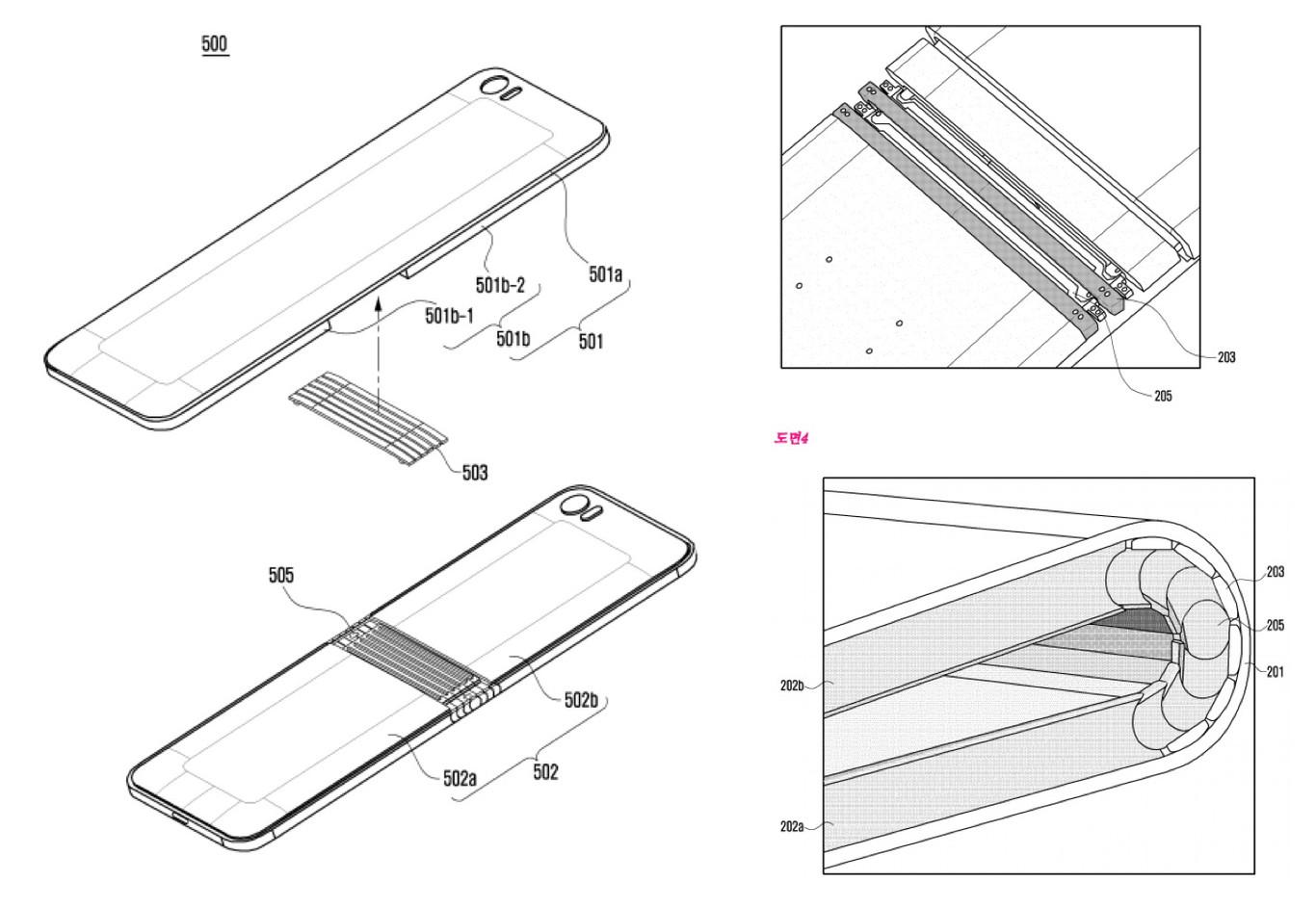 Así se verá el Galaxy X, el primer smartphone plegable de