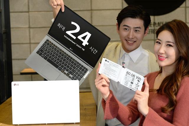 Las LG Gram 2017 presumen de ser las más ligeras y tener autonomía de 24 horas