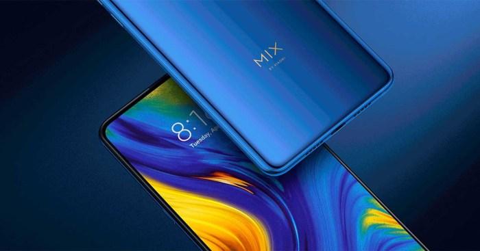 El Xiaomi Mi MIX 4 se deja ver en su primera fotografía real