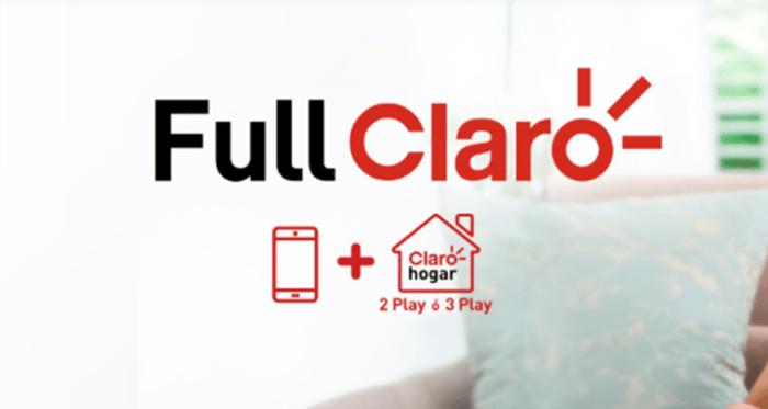 Claro anuncia 'Full Claro' para competir con 'Movistar Total'
