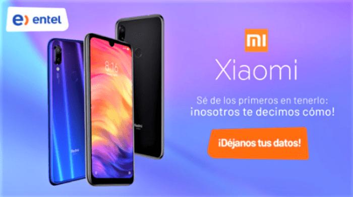 Entel abre el registro para hacernos con su primer smartphone Xiaomi