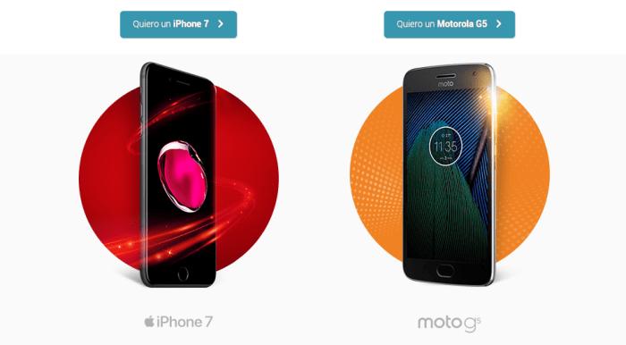 El Canje Smart regresa con el iPhone 7 y el Moto G5