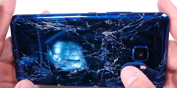 El HTC U Ultra ha resultado ser una decepción en cuanto a resistencia