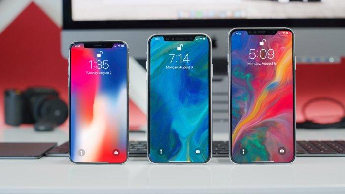 Así se verán los nuevos iPhones 2018: iPhone XS, iPhone XS Plus y iPhone 9