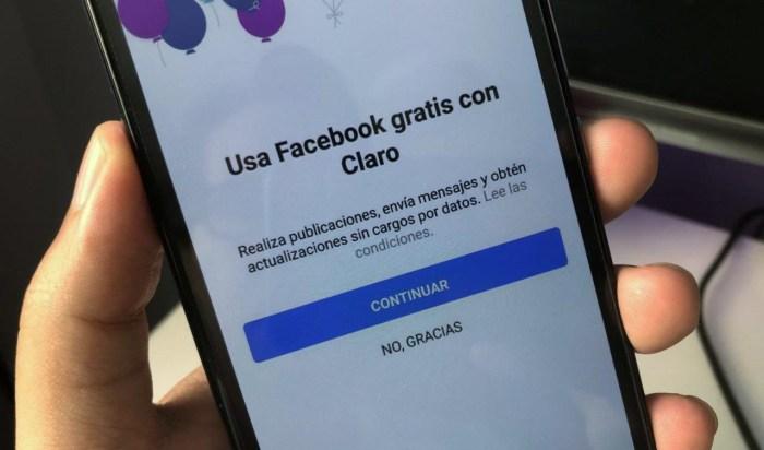 ¿Qué pasó con el Facebook de Claro?