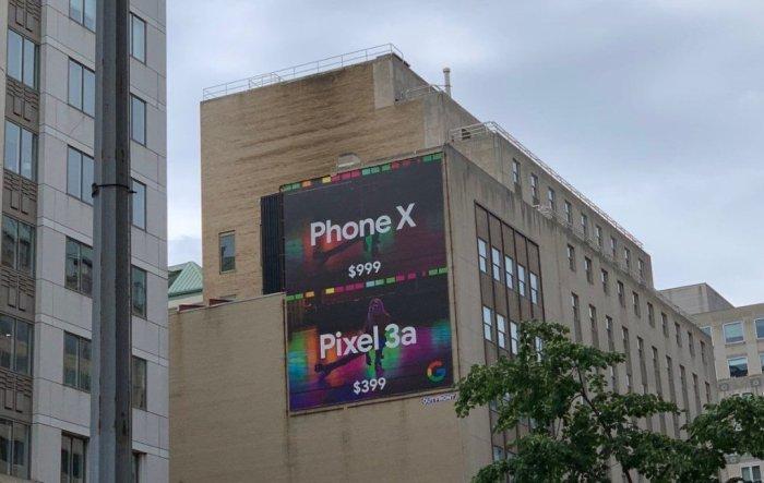 Google publicita la cámara del Pixel 3a frente al iPhone Xs