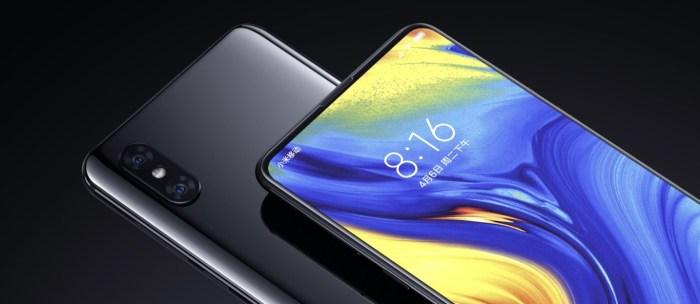 Xiaomi MI MIX 3: cámara deslizable, pantalla sin bordes y hasta 10 GB de RAM
