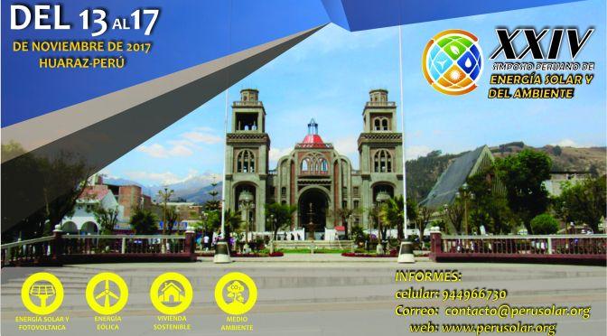 XXIV Simposio Peruano de Energía Solar y del Ambiente