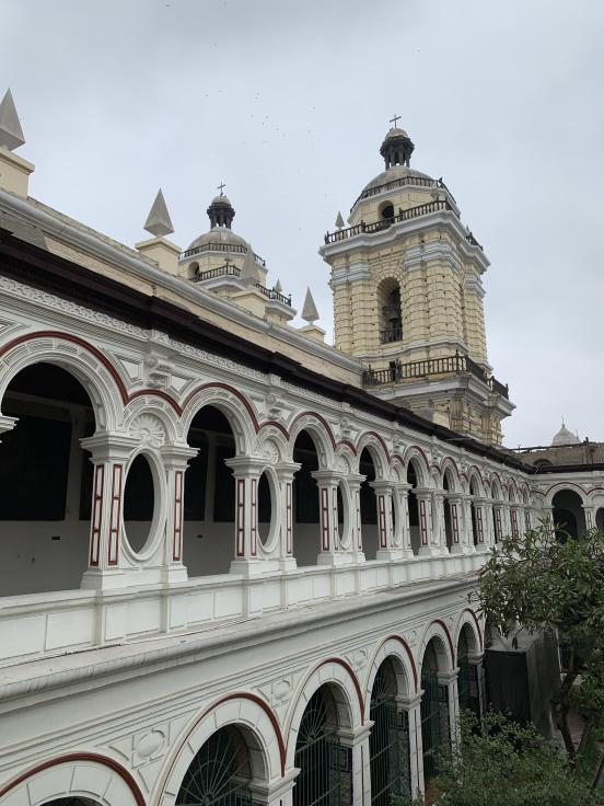 Basilica de San Francisco, Lima, Peru