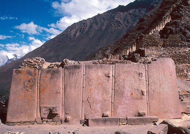 Wall of Monoliths at Ollantaytambo