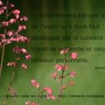 Remise en question du PN. Geneviève Schmit