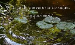 Victime de pervers narcissique. Pourquoi moi?