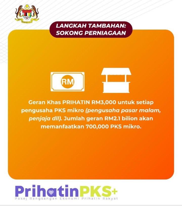 Kerajaan ringankan beban kewangan PKS