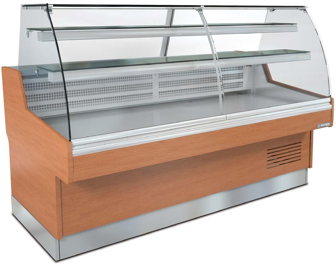 vitrine r frig r e droite emeraude agencement de. Black Bedroom Furniture Sets. Home Design Ideas