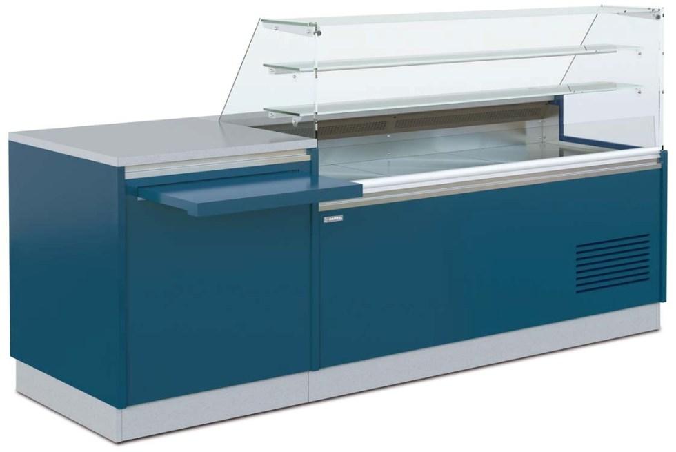 vitrine réfrigérée droite Saphir caisse PMR
