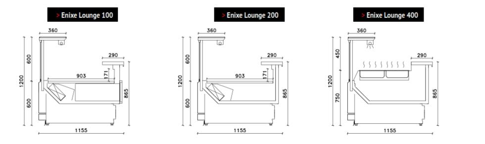 Vitrine Criocabin Enixe Lounge