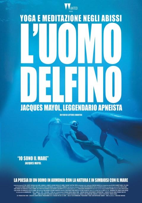 uomo delfino locandina LD