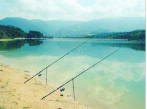 pesca nel lago di polverina