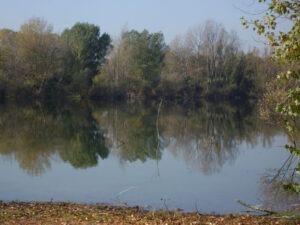 paesaggio del lago Mariotti