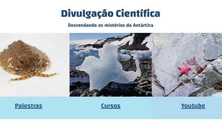 Ecologia Antártica – Inscrições abertas