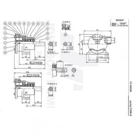 Pompe de refroidissement, turbine et kit pour moteur