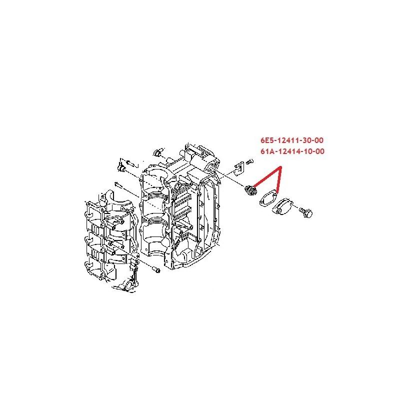 Kit Thermostat moteur hors bord Yamaha 25-50cv- 225-250cv