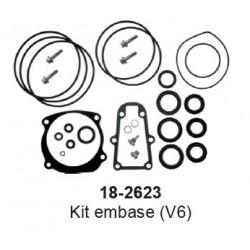 Pochette de Joints d'embase Johnson Evinrude V4-V6-V8 140
