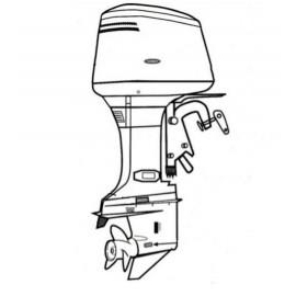 Anodes pour moteurs hors bord de bateau Honda, Yamaha