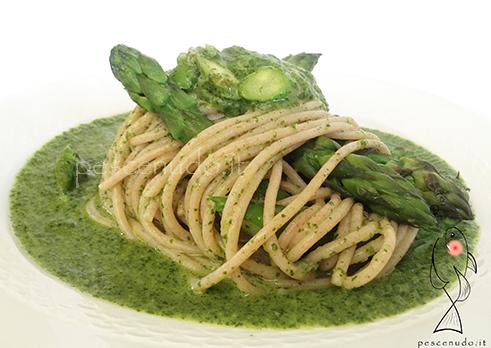 spaghetti tarassaco