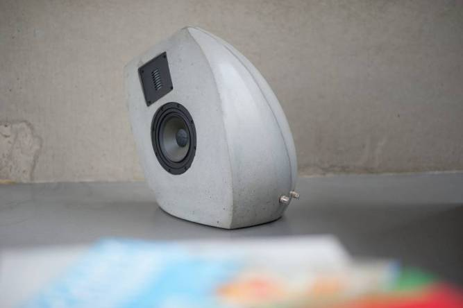 Lautsprecher aus Beton GOS II
