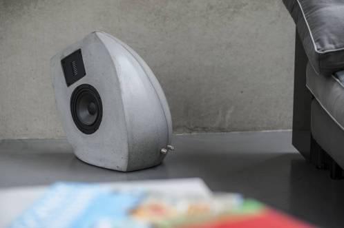 Lautsprecher aus Beton GOS II Ambiente