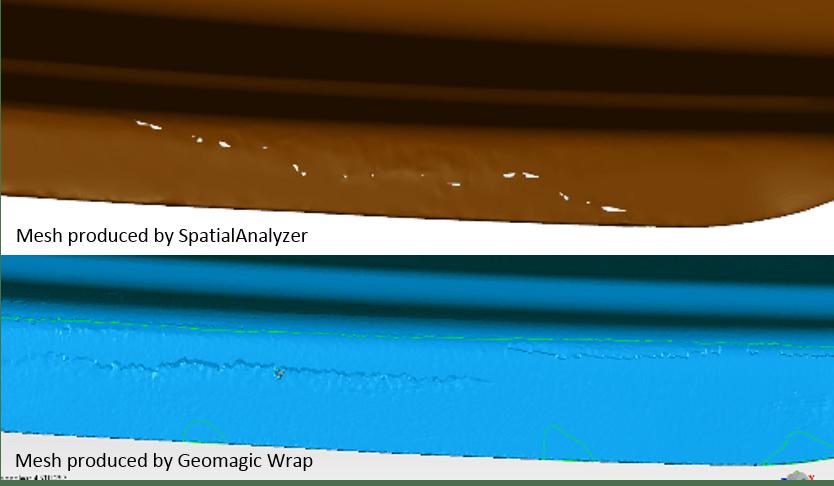 SpatialAnalyzer vs Geomagic