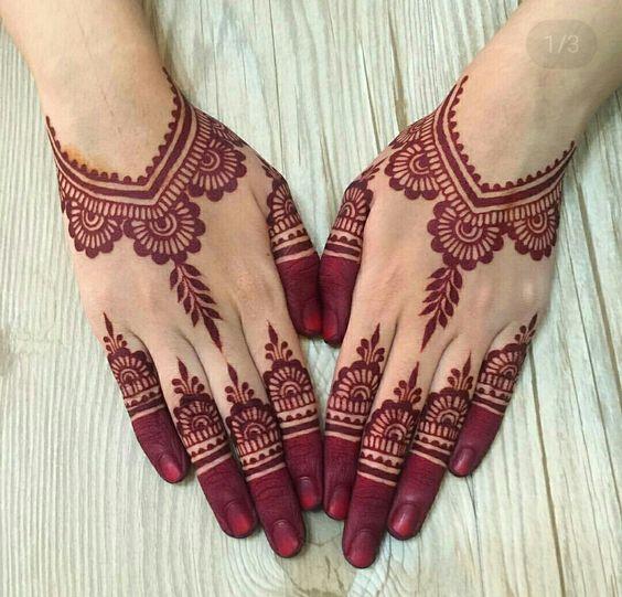 Henna Tangan Pengantin Terbaru