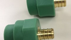 PP-RCT pex transition fitting 1/2 and 3/4 inch is now available