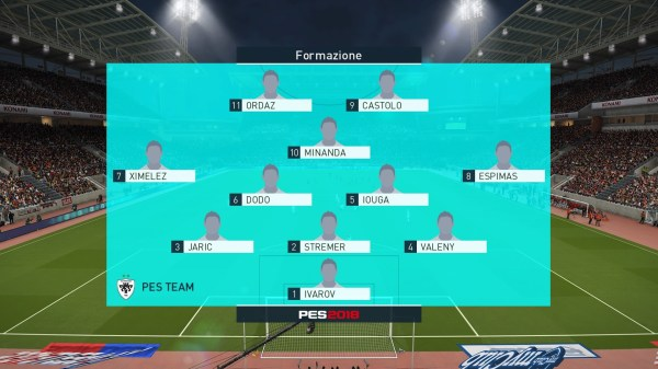 Pes Master League Best Teams 2018 - Year of Clean Water