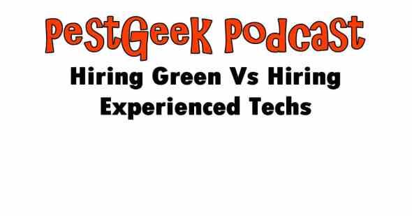 Hiring Experienced Technicians