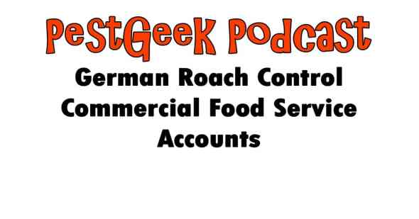 German Roach Control Commercial Food Service Accounts
