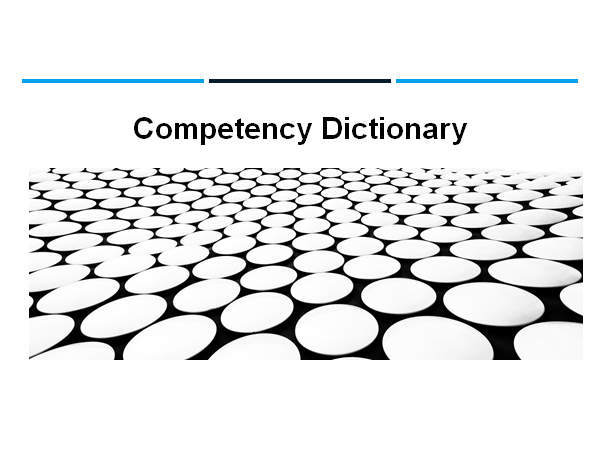 Competency Dictionary