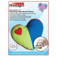 Heartbeat Pillow for Puppies or Dogs - 8.25 in.