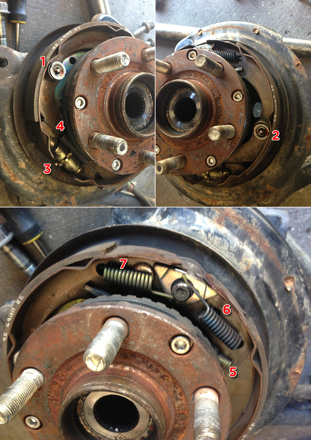 hight resolution of parking brake assembly