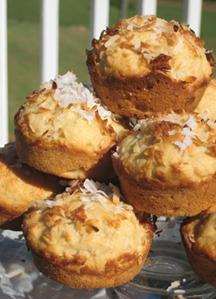Vegan baking recipe - banana muffins