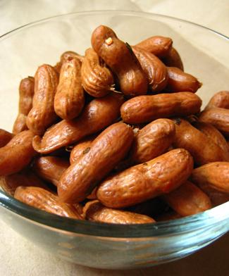 Cajun Boiled Peanuts  PETA