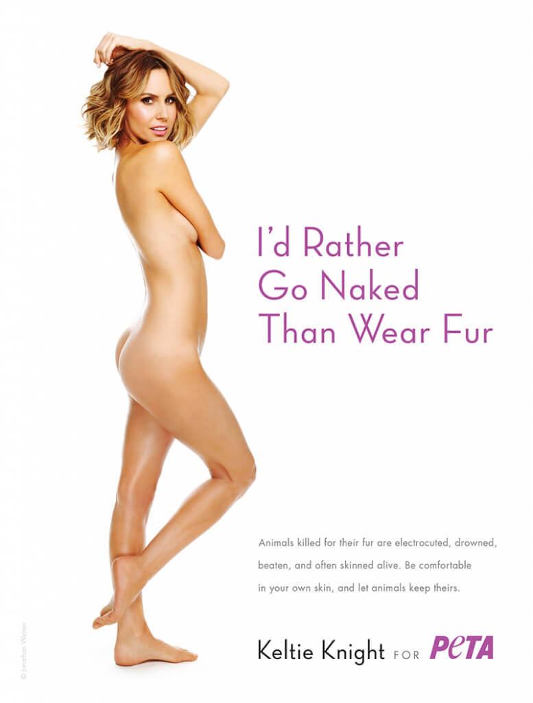 Keltie Knight: I'd Rather Go Naked Than Wear Fur