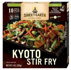 vegan frozen meals including from amy