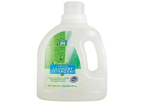 Bottle of Trader Joe's Laundry Detergent
