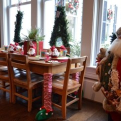 Christmas Elf Chair Covers Dining Table Sets Uk Leg Petagadget